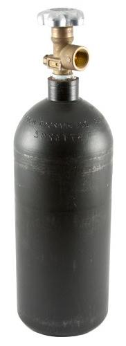 Forney 85362  Argon/CO2 Cylinder, Steel High Pressure, Empty