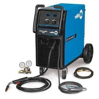 MILLER ELECTRIC 907322 MIG Welder, Wheeled, 230/460/575VAC