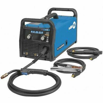 MILLER ELECTRIC 907693 Multiprocess Welder, Multimatic 215 S