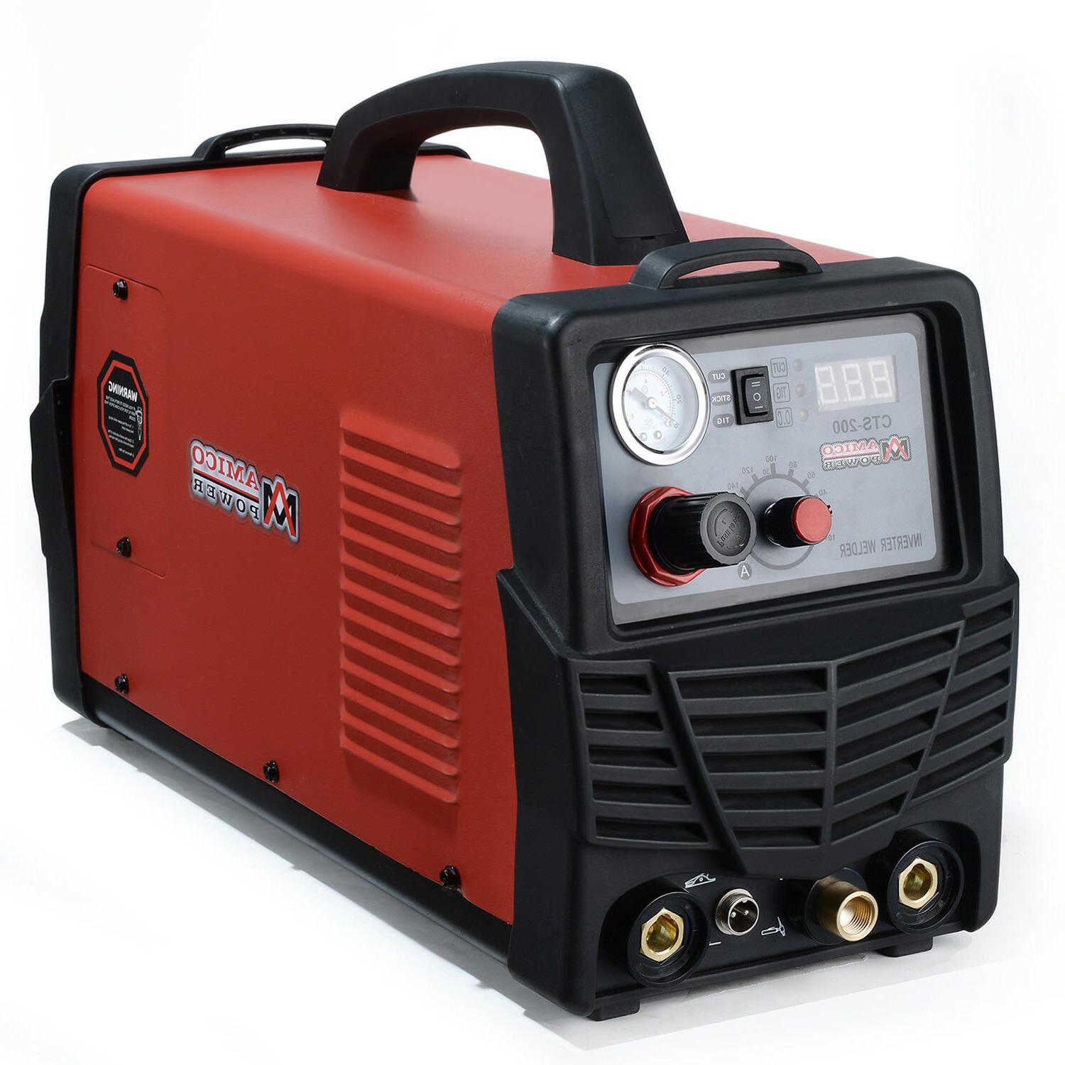 Amico Plasma 200A Welder 3-in-1