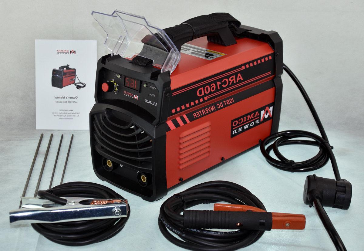 ARC-160D, Amp ARC DC Inverter 110V & 230V Voltage Welding