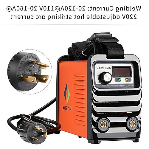 ARC Current MMA IGBT DC Inverter Machine 110V Voltage with Holder Package Ready