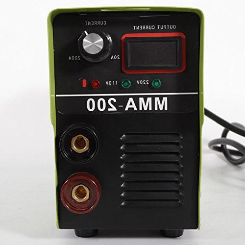 Arc Machine Handheld Welder 120AMP ARC Machine Solder Inverter 110V Welders Rods Accessories