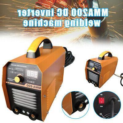arc welding machine mma200 amp dc inverter