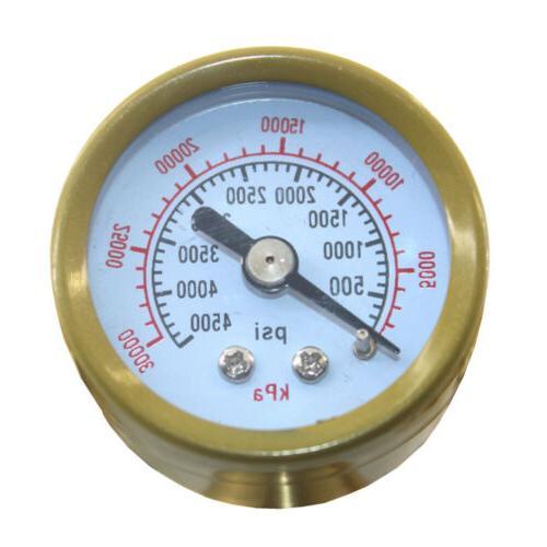 Argon CO2 Mig Flow Meter Gauge Gas Welder Equipment Tig