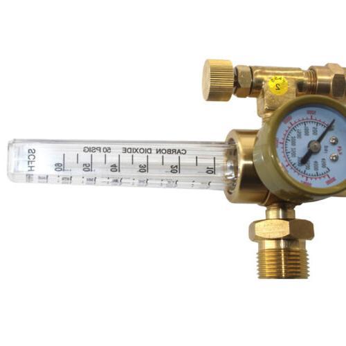 Argon Flow Regulator Gauge Gas Welder Equipment Mig Tig
