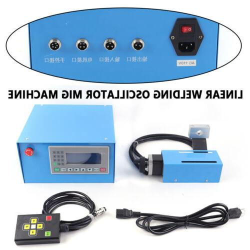 Automatic Linear Welding Equipment Welding 110V FREE SHIP