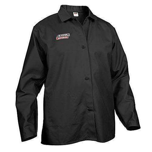 black flame resistant cloth welding