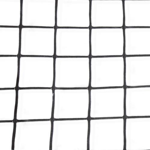 "Black Metal Wire Fencing Mesh 1.5"" 16"