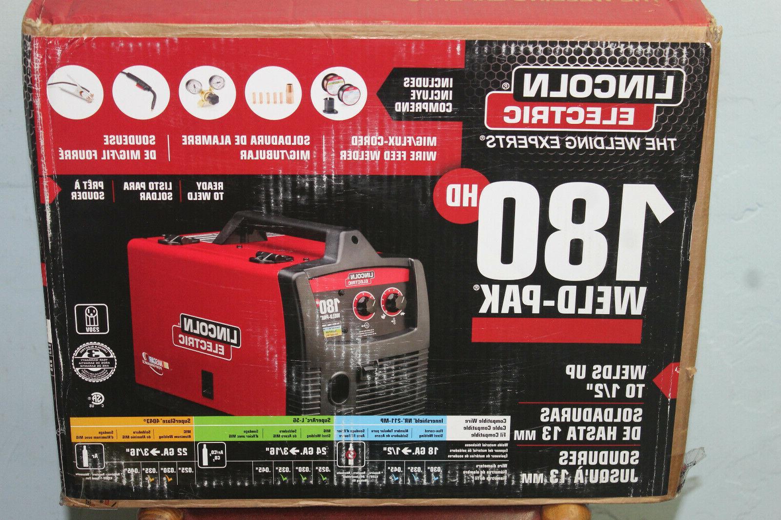 brand new weld pak 180 hd amp