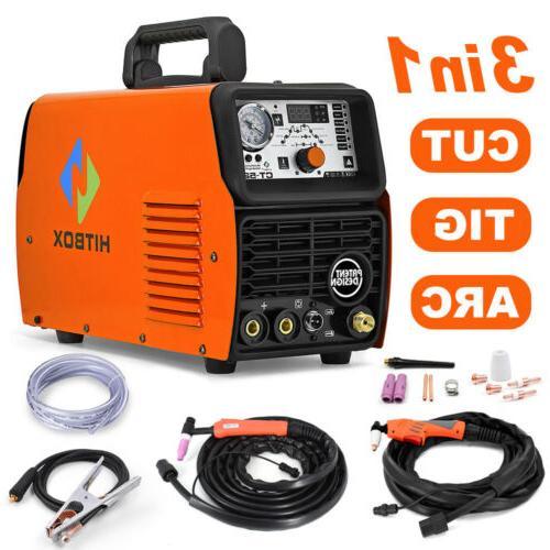 CT520 3IN1 Air Plasma Cutter Welder Inverter TIG/MMA/Cut Wel