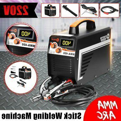 digital 220v 400a mma arc electric welding