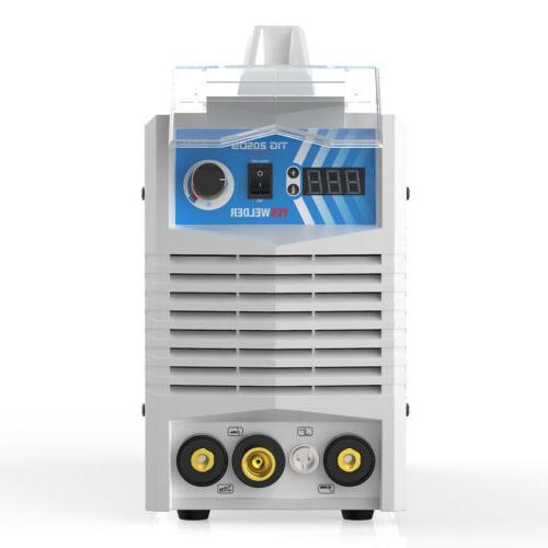205 HF TIG /220V Dual TIG Machine