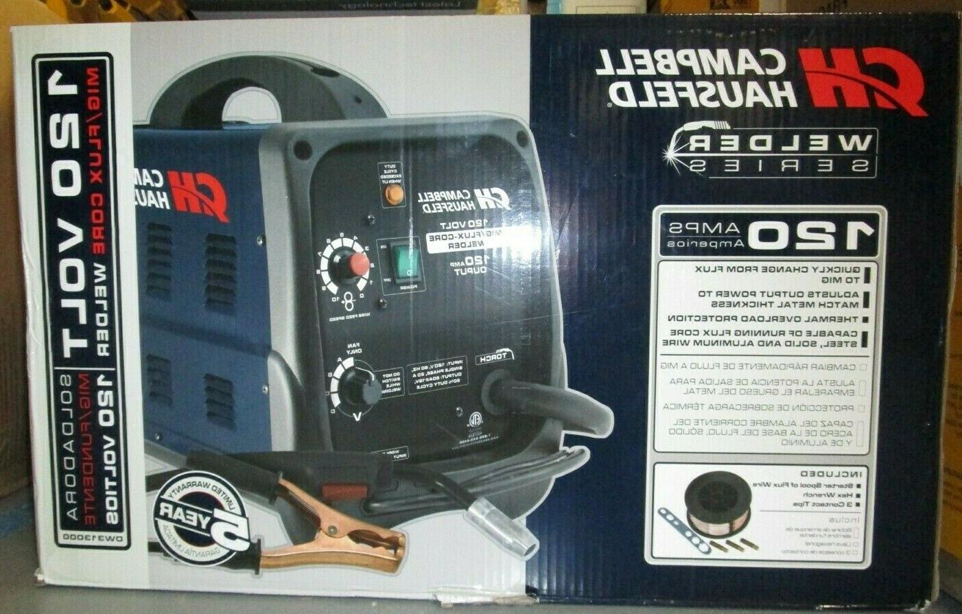 electric core welder 120 amp 4 heat