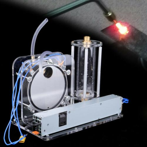 200W Electrolysis Water Machine Hydrogen and Oxygen Flame Ge