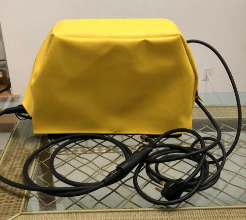 yellow esab rebel model emp215ic welder cover