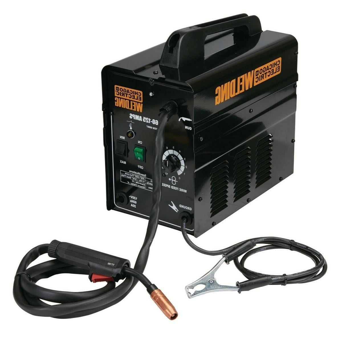 Gas 125 Amps Portable Lightweight Welding Machine Wire