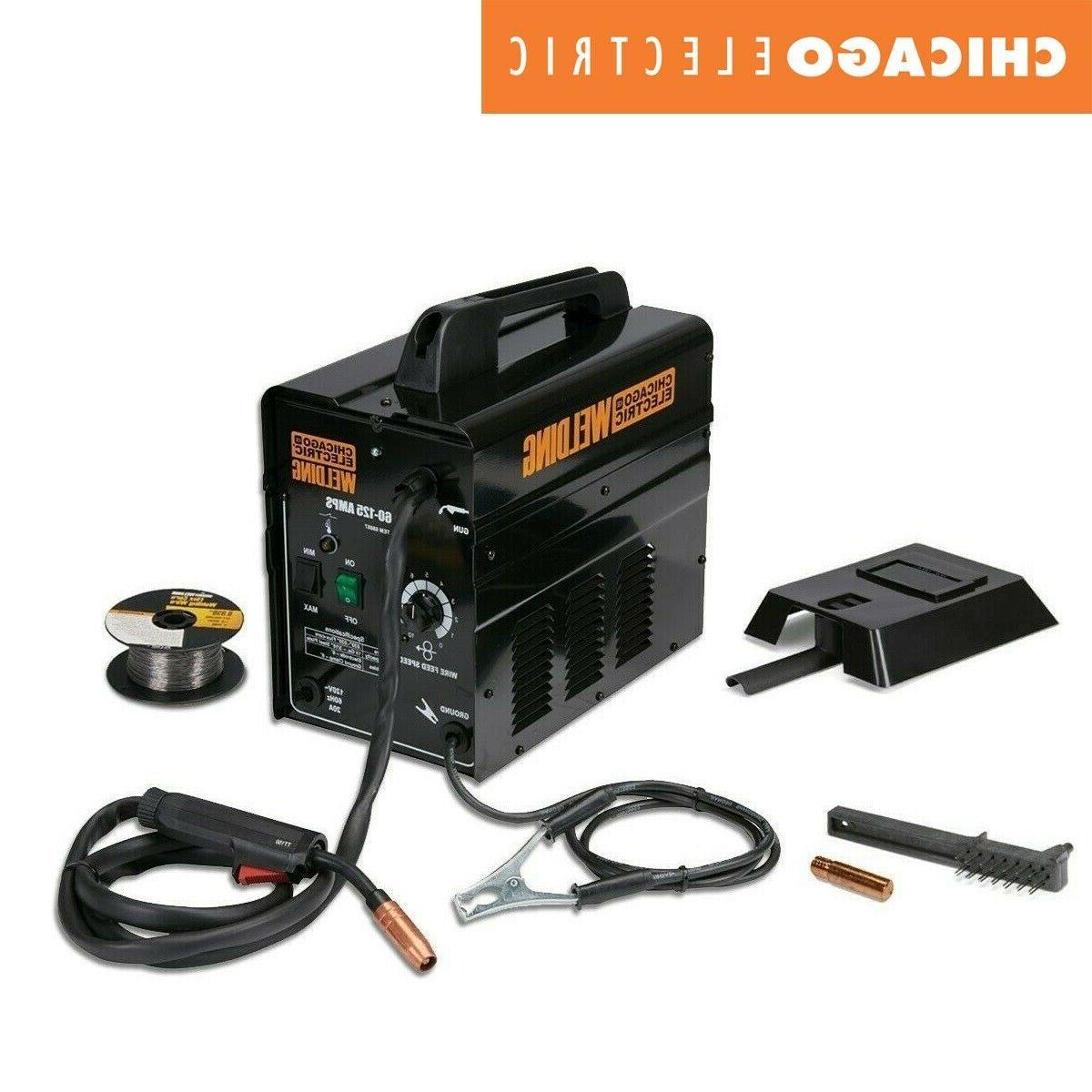 gas less flux welder 125 amps core