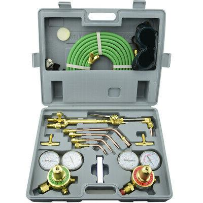 gas welding and cutting kit portable acetylene
