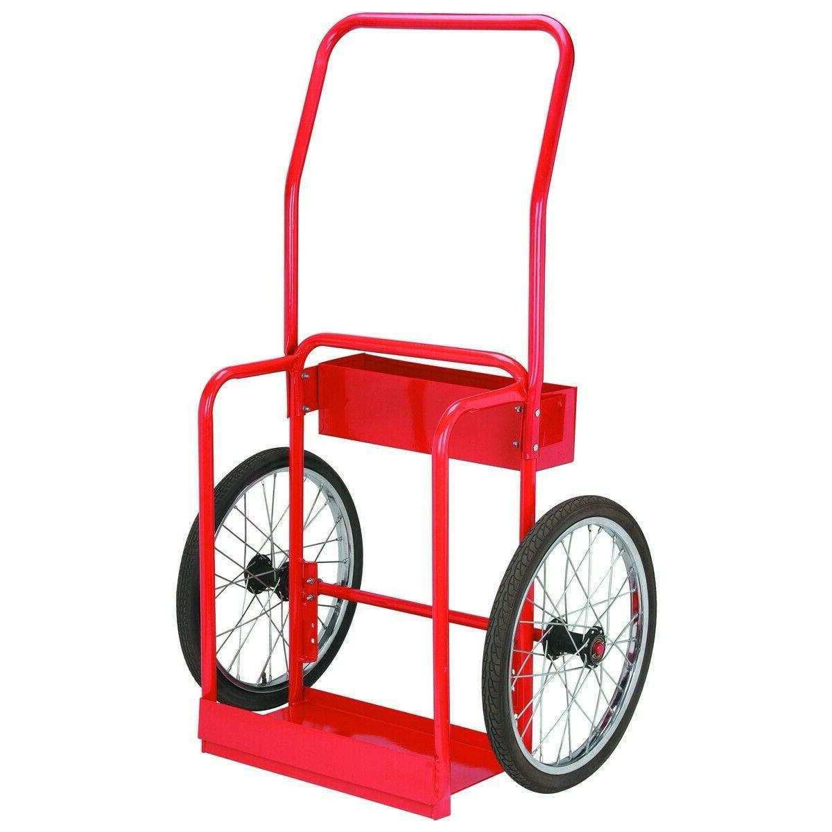 gas welding cart hauler oxygen