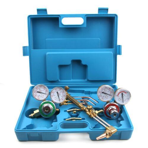 Gas Cutting Kit Oxygen Torch Case