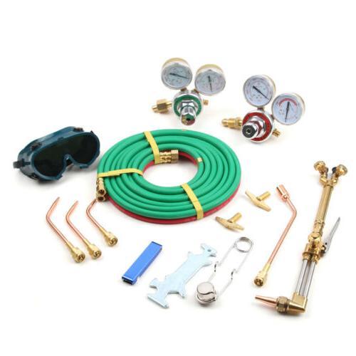 Gas Welding Kit Oxy Acetylene Torch Case