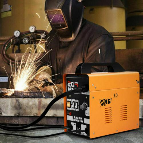 Goplus MIG 130 Welder Flux Wire Automatic Feed Welding Machine Free