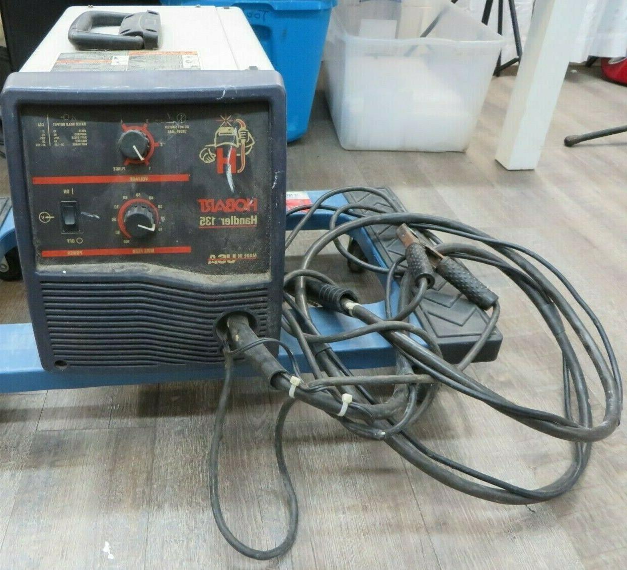 handler 135 wired feed welder 115v 20amps