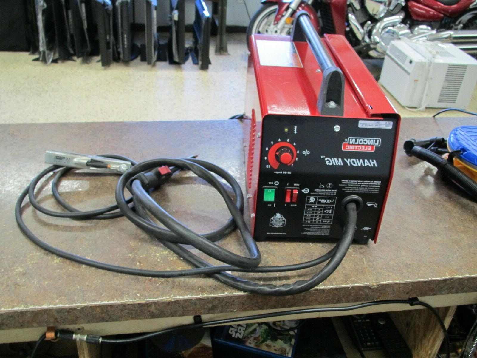 Lincoln Electric Mig Portable Welder Excellent