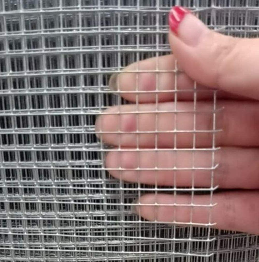 Hardware Cloth x Gauge Silver Galvanized Cage Wire
