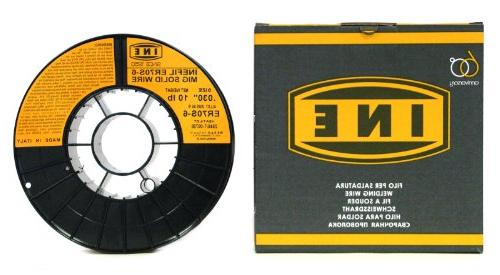 INEFIL ER70S-6 .030-Inch 10-Pound Spool Steel Solid Welding Wire
