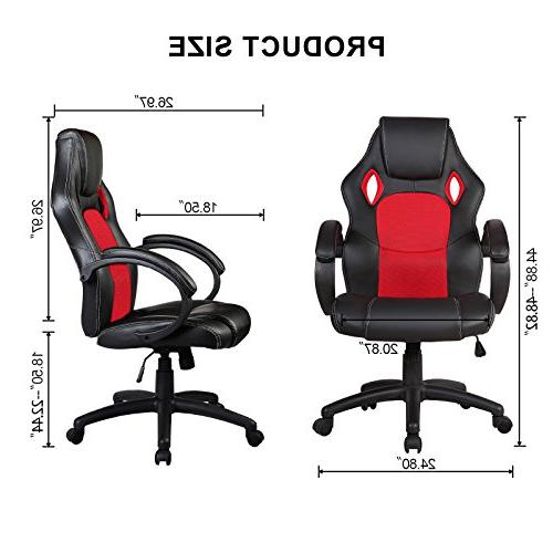 Mecor Ergonomic Chair, Swivel Desk Chair Racing Style Gaming Chair and