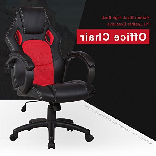 Mecor Chair, Desk Chair Gaming Chair Home and Office,Red