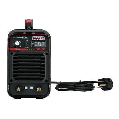 165 Amp Lift-TIG Torch/Stick/Arc DC Welder 115/230V Dual Vol