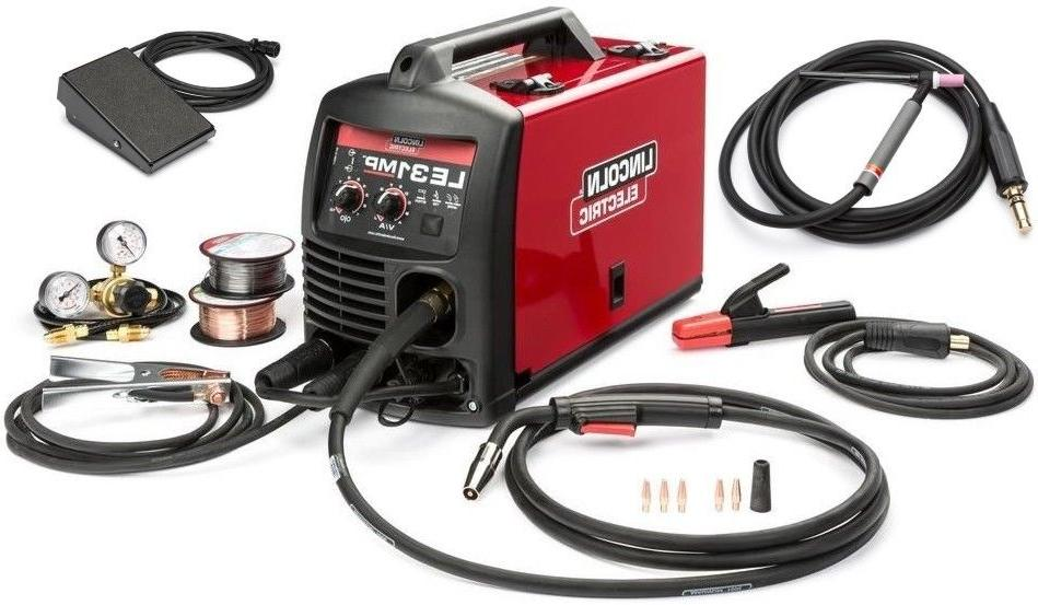 lincoln k3461 1tp le31mp multiprocess wirefeeder welder