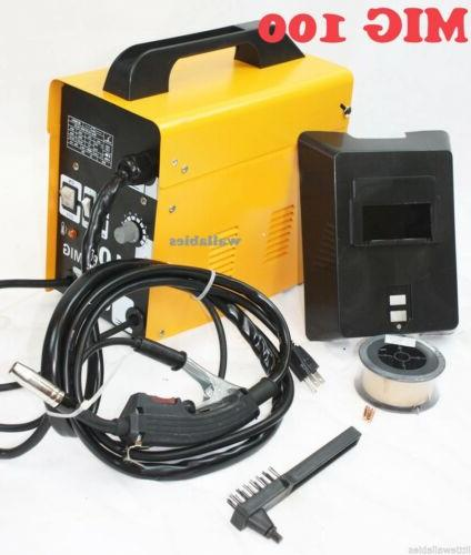 mig 100 flux wire welding machine 220v