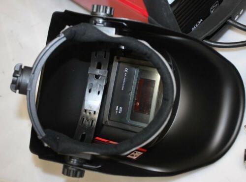 MIG-130 Wire Welder & US Helmet