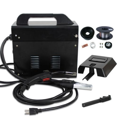 MIG 130 Welder Gas Less Flux Automatic Welding W/
