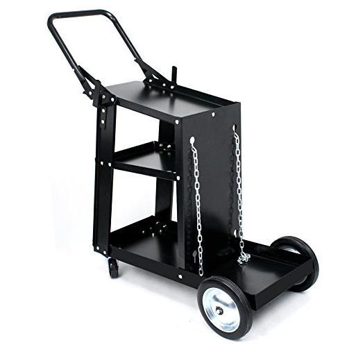 ZENY MIG Machine Gas-Less Welder and Welding Cart Professional