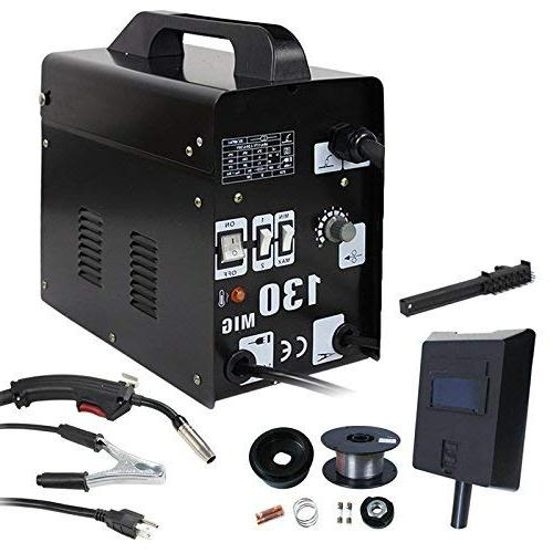 ZENY MIG 130 Welding Machine and Set w/Safely