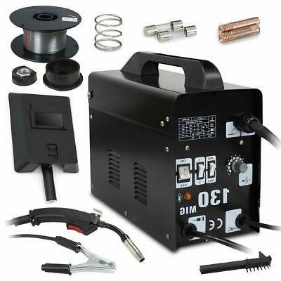 MIG 130 Welding Machine Welder Gas Less Flux Core Wire Autom