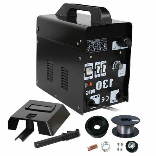 MIG 130 Welder Gas Less Core Automatic Feed w/