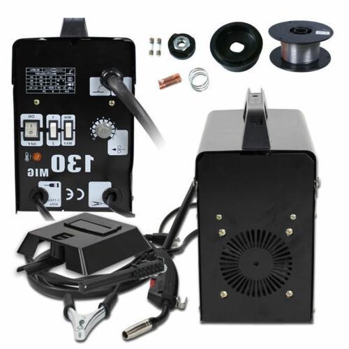 MIG 130 Welding Welder Core Wire Automatic w/ Mask
