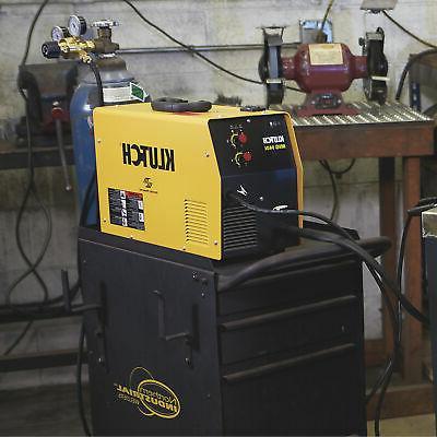 Klutch MIG 140i Flux-Core/MIG Welder Inverter, 30-140 Amp Output