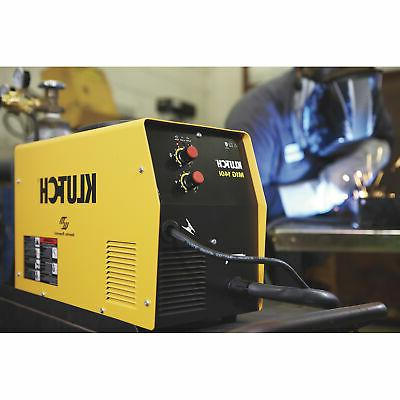 Klutch MIG Flux-Core/MIG Welder - 30-140 Amp Output