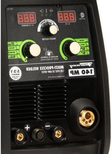 MIG Multi-Process Based 140-Amp