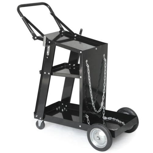 MIG TIG Welder Welding Cart Plasma Cutter ARC Universal Stor