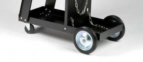 MIG Welding Cart Storage for & Accessories Wheels