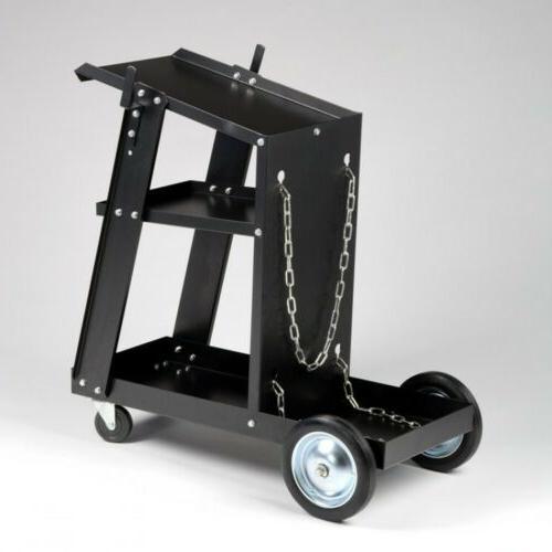 MIG TIG Welder Welding Cart for Tanks & Wheels