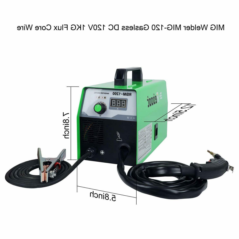 MIG Welder Gasless AC Welding Machine